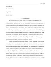 Author Research Essay Eng 1302 (Final Revised)