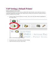 SAP Setting a Default Printer.docx
