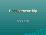 Chapter 12 Entrepreneurship - Copy