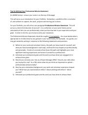 Tips for writing a professional mission statement.pdf