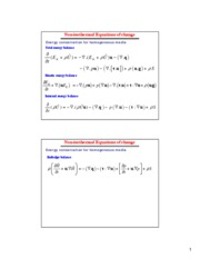 C9-Nonisothermal Equations of change