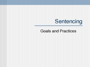Lecture 31-Sentencing
