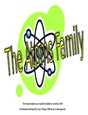 AtomsFamily.ppt
