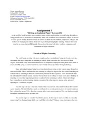 adapting writing style to suit audience essay What are the work styles of the decision makers  whether making a formal  presentation at a meeting or writing a report or fact sheet, the following principles   the first part should give broad background information, while the second part  provides a detailed summary  does the room match the size of the audience.