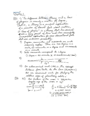 ASTR101 Solutions - Ch. 1-5