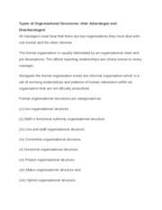 Types of Organisational Structures.docx