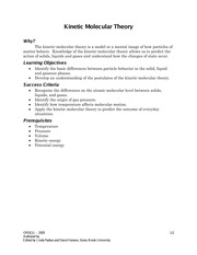 Worksheets Kinetic Molecular Theory Worksheet kinetic molecular theory practice pt2 pogil this is the end of preview sign up to access rest document unformatted text theory