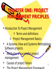WEEK 2_CHAPTER ONE _ PROJECT MANAGEMENT PRINCIPLES.ppt