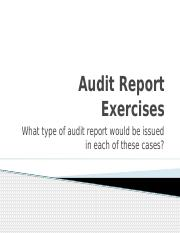 Clarified Audit Report Exercises.pptx