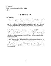 Written Assignment 02