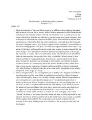 Huck finn essay questions