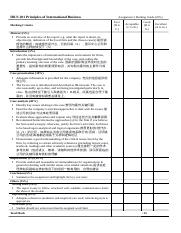 Assignment Two marking sheet