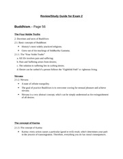 Review-study guide for exam 2