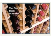 Fine Wine Video Tutorial Slides