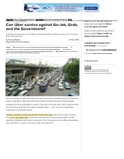Can Uber survive against Go-Jek, Grab, and the Government?.pdf