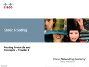 Chapter 2 Routing Protocols and Concepts