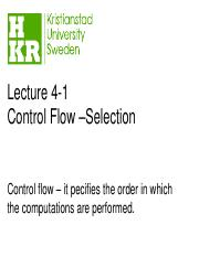 lecture4-1 selections