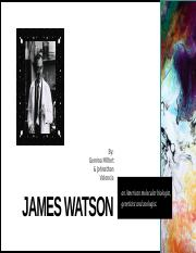 james watson scientist project.pptx