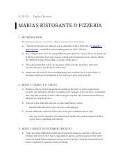 Maria's Pizza Outline.docx