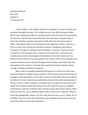 The Crucible Final Essay .docx