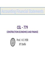 Accounting Financial Statements