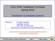 Chapter 1 - Introduction to Databas Systems 1-13