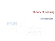 lecture6 Theory_of_Leasing