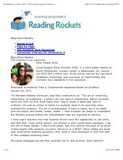 Grounded in evidence. Part 3 Constructed responses based on evidence  Reading Rockets.pdf