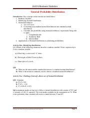 Tutorial week 10-Probability Distribution V1