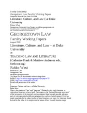 Law and Lit FINAL 2