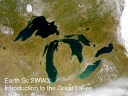 Lecture 09 - Introduction to the Great Lakes