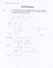 423 Quiz and Test