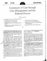 continuity of care through care management and referral process.pdf