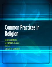 Common Practices in Religion_Week 1_Krista Connors.pptx