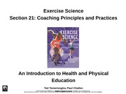 4.3 Coaching Principles and Practices