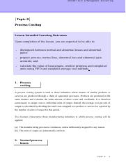 CMA_Topic 8_Process Costing_Handout.doc