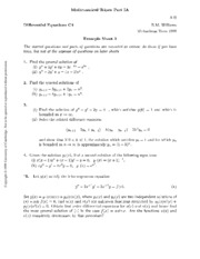Differential Equations 3