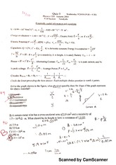 Quiz 3 Physics 1201