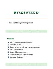 ISYS224_wk13(Storage_Fundamental)_221