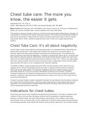 Chest tube care.docx