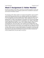 Week 3 Assignment 2 Holter Monitor.docx