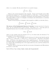 Math 120 Foundations Notes