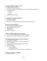 CHLH 100 Midterm Study Guide- Spring 2016(1).docx