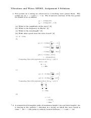 Assignment9Solutions
