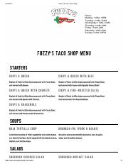 image relating to Fuzzy's Tacos Printable Menu named torchys-tacos-menu-internet.pdf - Eco-friendly CHILE PORK $ 3.75 Sluggish
