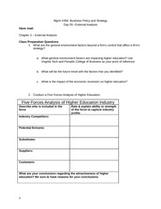 MGT4394_External_Analysis_Preparation_Handout