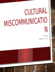 Cultural Miscommunication Video-Presentation (1)