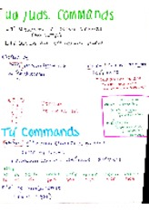 ud and uds commands and tu commands