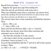 Lecture 13 on Probability and Statistics