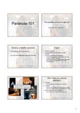 09Paranoia